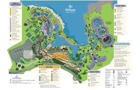 Map Of Hawaii Big Island Hilton Waikoloa Village Dolphin Quest