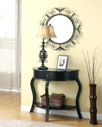 Entry Console Table With Mirror Console Tables Awesome Console Table Decor Of Image Narrow With