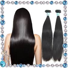 best hair on aliexpress best grade 7a indian virgin straight hair 2pc lot natural black