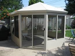free standing sunroom maintenance free gazebo aluminum gazebo