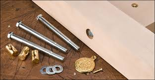 Replacement Bolts For Bed Frame Pine Wooden Bed Sidebar To Headboard Screws Wobbly Joints