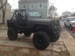 jeep custom wrangler cj cj7 monster jeep custom rod rock crawler mud