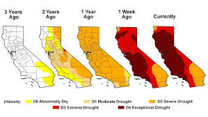 california drought map january 2016 worst drought in california history not really watts up with that