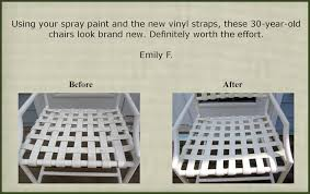 Painting Vinyl Chairs Customer Responses