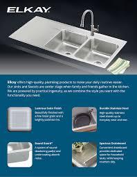 High Quality Kitchen Sinks Elkay Lustertone Drop In Stainless Steel 48 In 4 Bowl