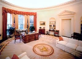 Trump Oval Office Decoration Trump Official Praises Oval Office Makeover Blames Obama For