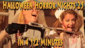halloween horror nights 25 2015 halloween horror nights 25 at universal orlando in 4 5 mins