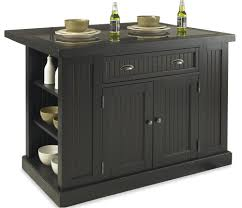 black kitchen island with stools home styles nantucket distressed black kitchen island with stools