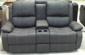 rv furniture leather dual recliner 72