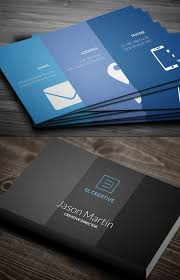 Best Visiting Card Designs Psd Best 25 Free Business Card Design Ideas On Pinterest Modern
