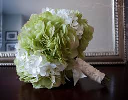 white hydrangea bouquet wedding bouquet green and white hydrangea bridal bouquet