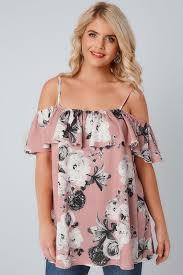 Shoulder Top - plus size bardot cold shoulder tops yours clothing