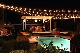 Patio Lighting Strings Outdoor String Lights Backyard Exterior Solar Patio String Lights