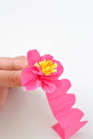 Making Of Flowers With Paper - how to make paper flowers tutorial crafts unleashed