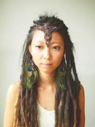 unlayered hair half dreadlock hair hairstyle hair for style