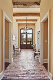 best 25 brick tile floor ideas on pinterest brick floor kitchen beautiful entance hallway brick floor