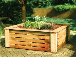 garden planter boxes on wheels in mutable wooden garden flower