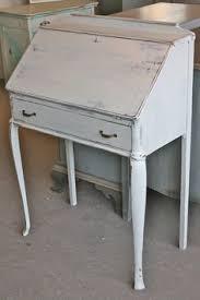 vintage desk for sale portfolio secretary desk slate and aqua painted curved leg table