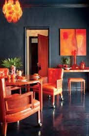 orange dining room orange is the new black homedesignboard