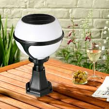Solar Powered Gate Lights - new product led solar powered gate post light solar round pillar