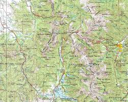 Rmnp Map The Glaciation Of Grand Lake