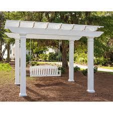 Pergola Swings Shop Garden Treasures Porch Swing At Shop Garden Treasures 2 Seat