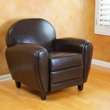 small leather armchairs foter