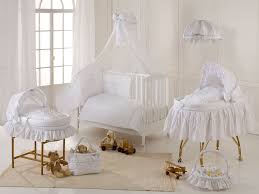 White Nursery Bedding Sets by American Baby Company Heavenly Soft 3 Piece Crib Bedding Set In