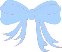 baby ribbon baby blue ribbon clip at clker vector clip online