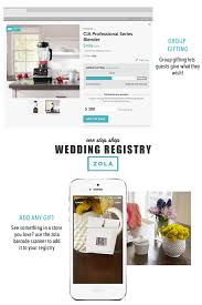 wedding registry store trending zola one stop shop wedding registry