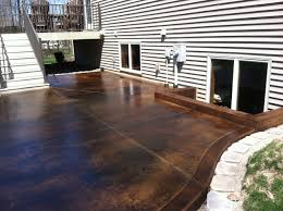 Patio Concrete Stain Ideas by Concrete Acid Stain Photo Gallery Acid Stain Concrete And High