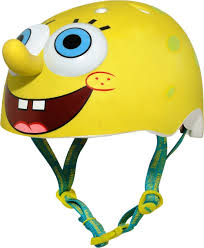 amazon com raskullz nickelodeon spongebob squarepants helmet