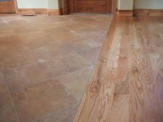 Tile Floor Kitchen Kitchen Idea Of The Day Perfectly Smooth Transition From Hardwood