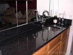 Black Granite Kitchen Countertops by Black San Gabriel Granite Countertops 479 Black San Gabriel