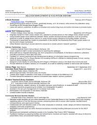 Library Resume Example Of Resume Of A Teacher Special Ed Teaching Resume Example