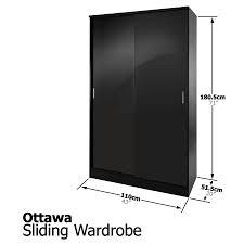 2017 black wardrobe bedroom furniture wooden consoles pictures