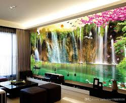 custom any size scenery wallpaper tv wall mural 3d wallpaper 3d see larger image