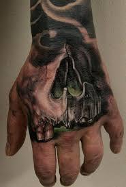 cool hand tattoos skull on hand tattoo 16 best tattoos ever