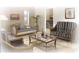 canap classique tissu canapé classique en bois style copie d ancien tissu rayure ou pois