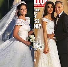 Wedding Dress Chord Amal Alamuddin U0027s Wedding Dress Copy