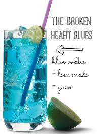 Cocktail Recipes For Party - the broken heart blues blue vodka cocktail recipe my life and kids