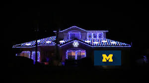 christmas lights in michigan university of michigan holiday lights youtube