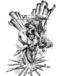 medusa tattoo sketch
