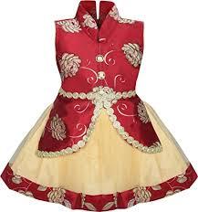fashion baby dress for princess satin silk net