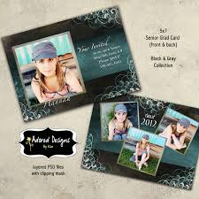 senior graduation announcement templates 11 senior announcement photoshop templates images free
