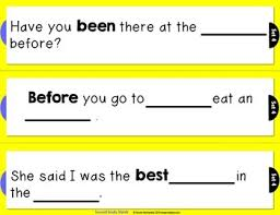 rebus sentences using dolch sight words second grade list tpt