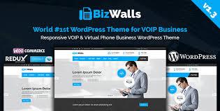 bizwalls responsive voip u0026 virtual phone business wordpress