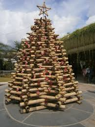 bamboo christmas tree michelle u0027s crafts pinterest christmas