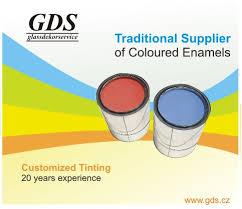 ceramic colors for flat glass gds cz