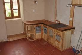 fabriquer un meuble de cuisine étourdissant construire sa cuisine en bois et construire meuble